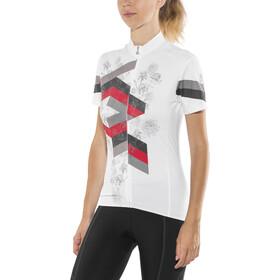 Löffler Flow FZ Bike Trikot Damen weiss/schwarz
